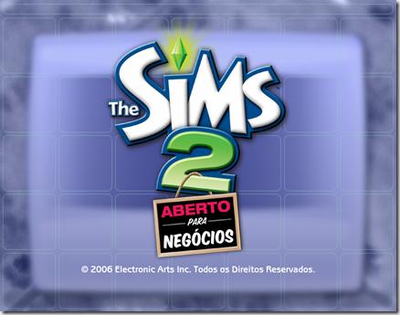 abertura the sims 2 aberto para negocios