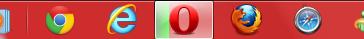 Coitado do Google Chrome... Ganhou uma batalha!